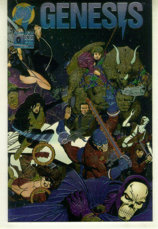 GENESIS #0 (Malibu Comics, 1993) NM!