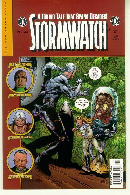 STORMWATCH #44 (Image Comics) NM!