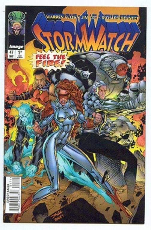 STORMWATCH #47 (Image Comics) NM!