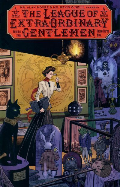LEAGUE of EXTRAORDINARY GENTLEMEN VOLUME TWO #3 (ABC) NM! ~ Alan Moore