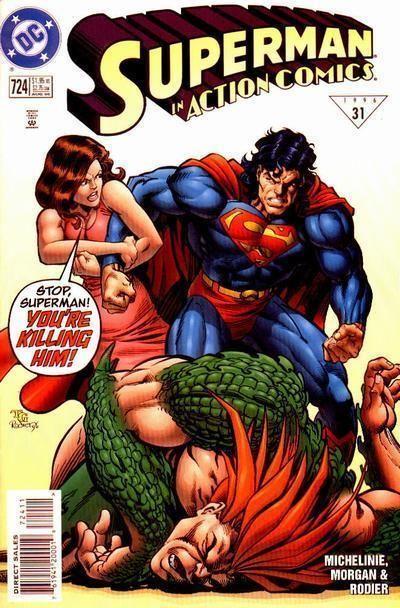ACTION COMICS #724 NM! ~ SUPERMAN!