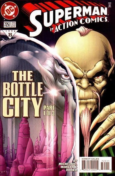 ACTION COMICS #725 NM! ~ SUPERMAN!