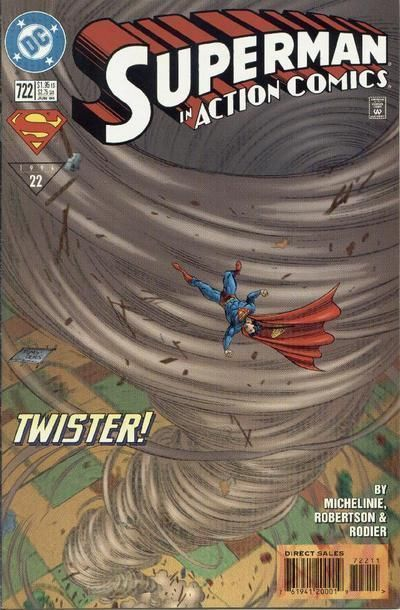 ACTION COMICS #722 NM! ~ SUPERMAN!