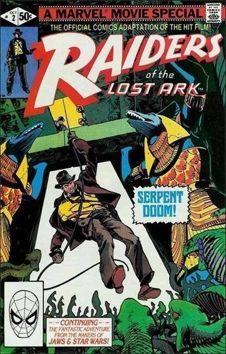 RAIDERS of the LOST ARK #2 (Marvel Comics, 1981) NM!