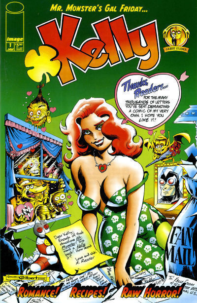 Mr. Monster's Gal Friday... Kelly! #1 (Image Comics, 2000) NM!