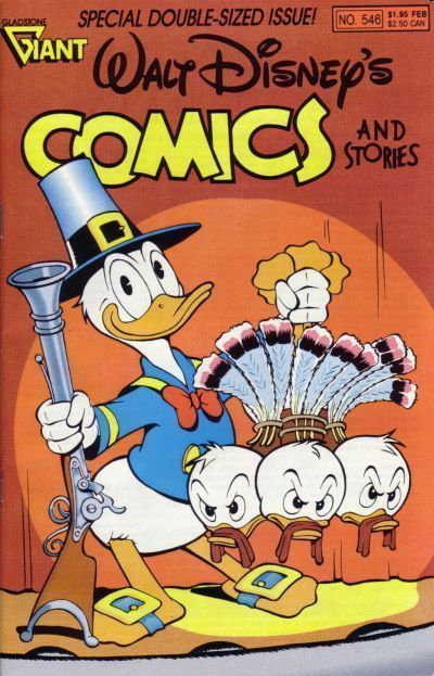 Walt Disney's COMICS and STORIES #546 NM!