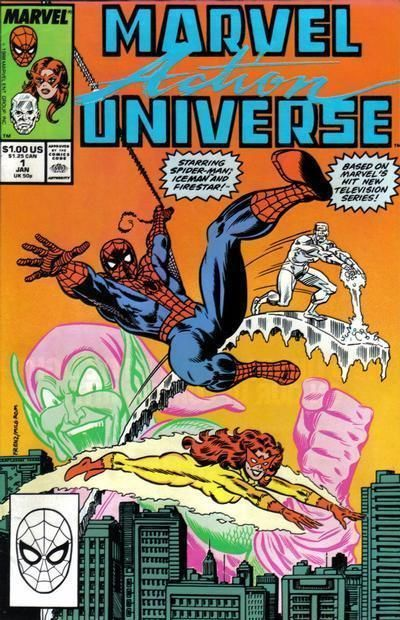 MARVEL ACTION UNIVERSE #1 NM! ~ SPIDER-MAN and His AMAZING FRIENDS!