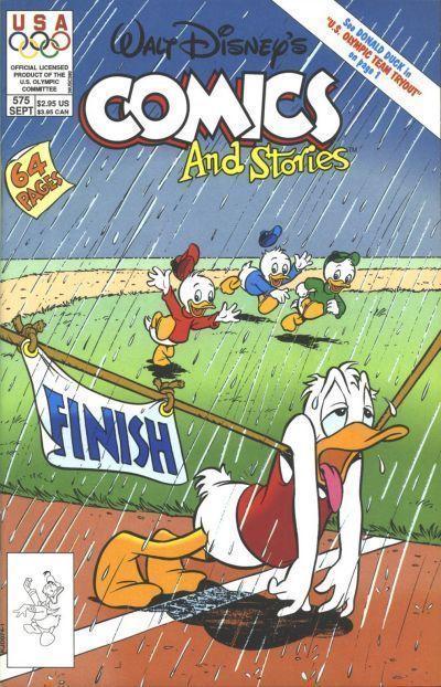 Walt Disney's COMICS and STORIES #575 NM!