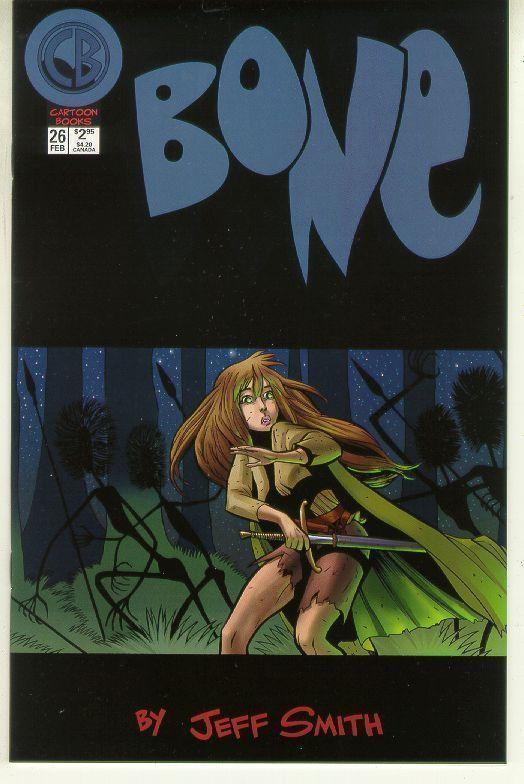 Bone #26 (Cartoon Books) NM!
