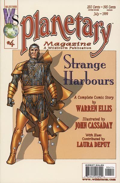 PLANETARY #4 (Wildstorm, 1999) NM!