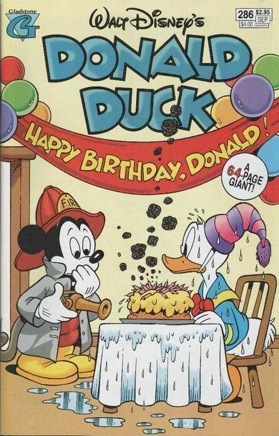 DONALD DUCK #286 (Gladstone) NM!