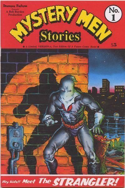 MYSTERY MEN STORIES #1 (1996) NM! ~ Bob Burden