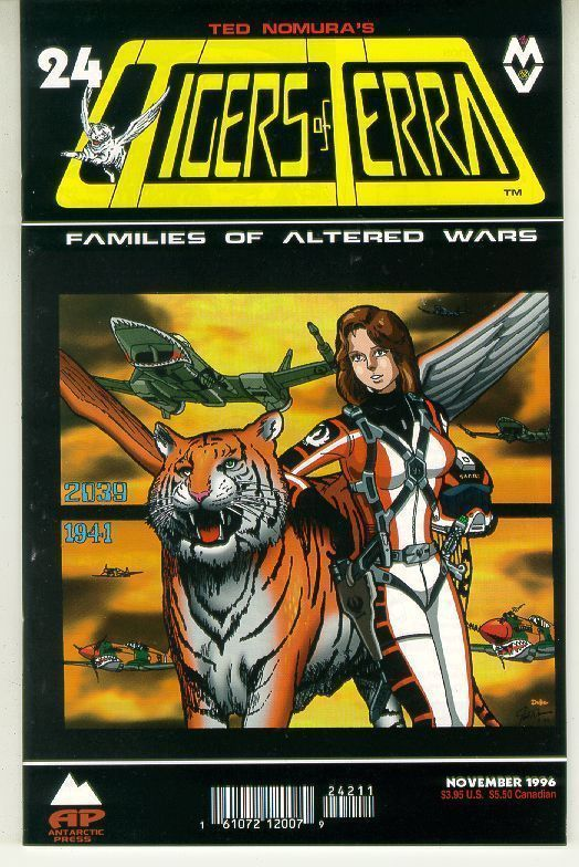 TIGERS of TERRA #24 NM! ~ Ted Nomura