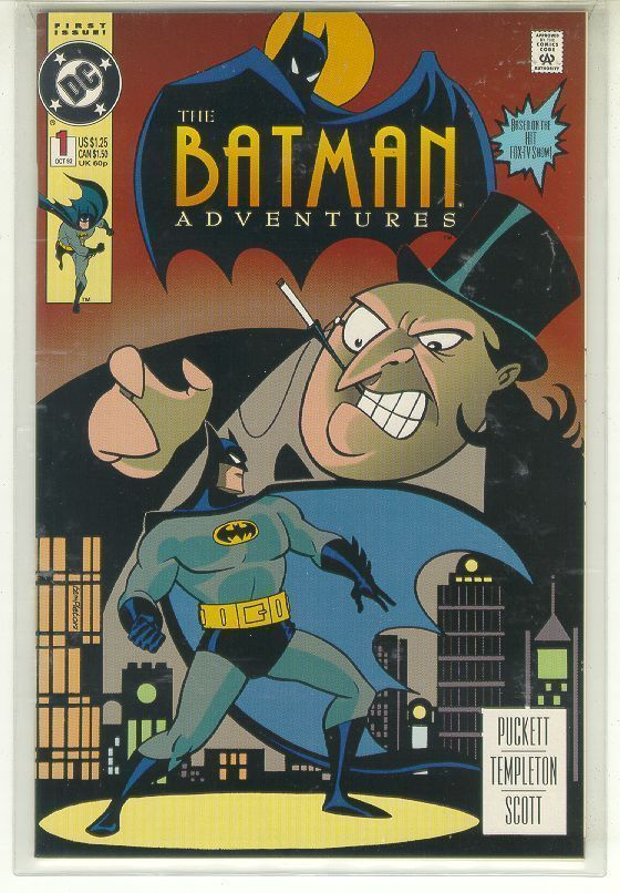 BATMAN ADVENTURES #1 (1992) NM!