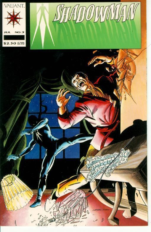 Shadowman #3 (Valiant) ~ NM!