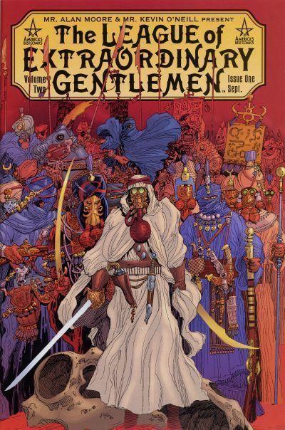 LEAGUE of EXTRAORDINARY GENTLEMEN VOLUME TWO #1 (ABC) NM! ~ Alan Moore