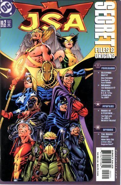 JSA SECRET FILES and ORIGINS #2 (2001) NM!