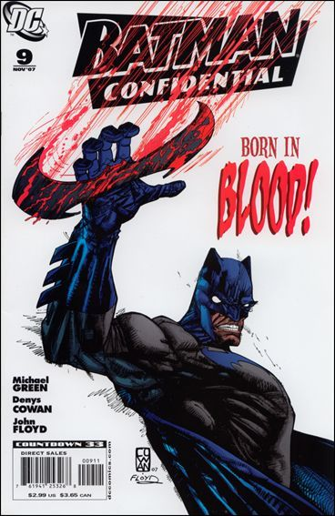 DC BATMAN CONFIDENTIAL #9 NM