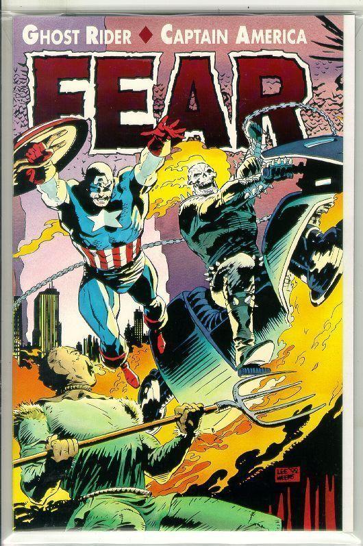 GHOST RIDER / CAPTAIN AMERICA: FEAR NM!
