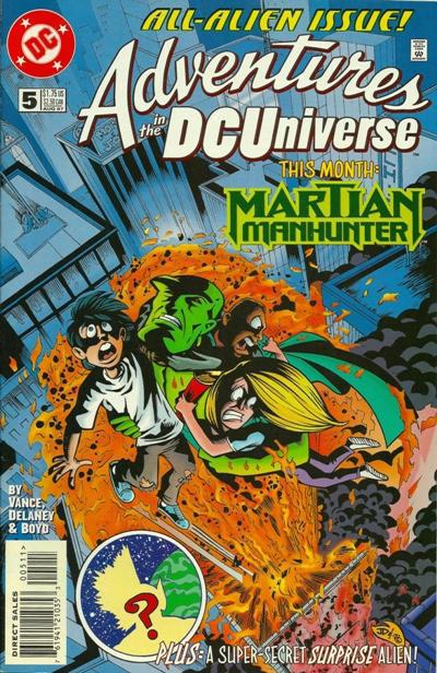 Adventures in the DC Universe #5 (DC Comics, 1997) NM!