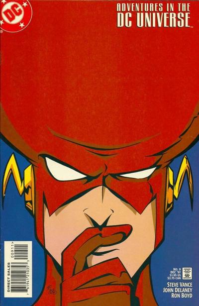 Adventures in the DC Universe #9 (DC Comics, 1997) NM!