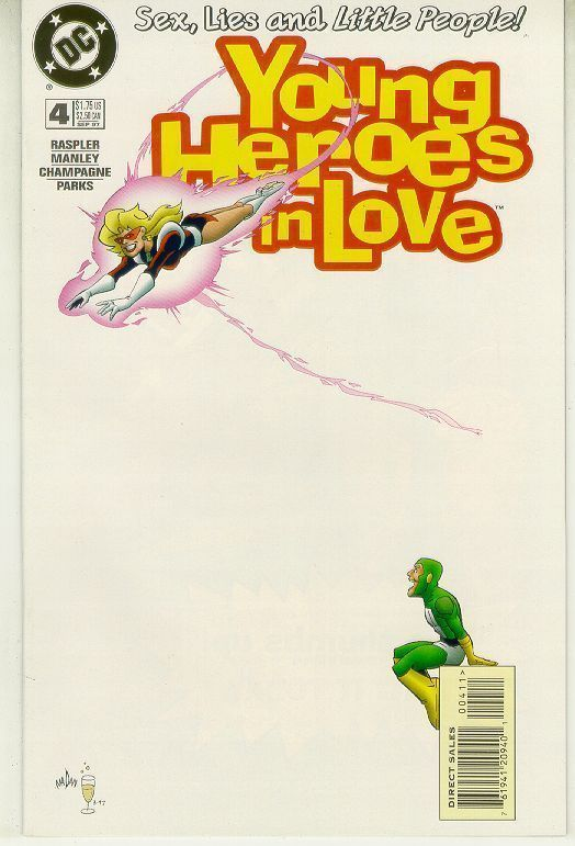 YOUNG HEROES IN LOVE #4 NM!