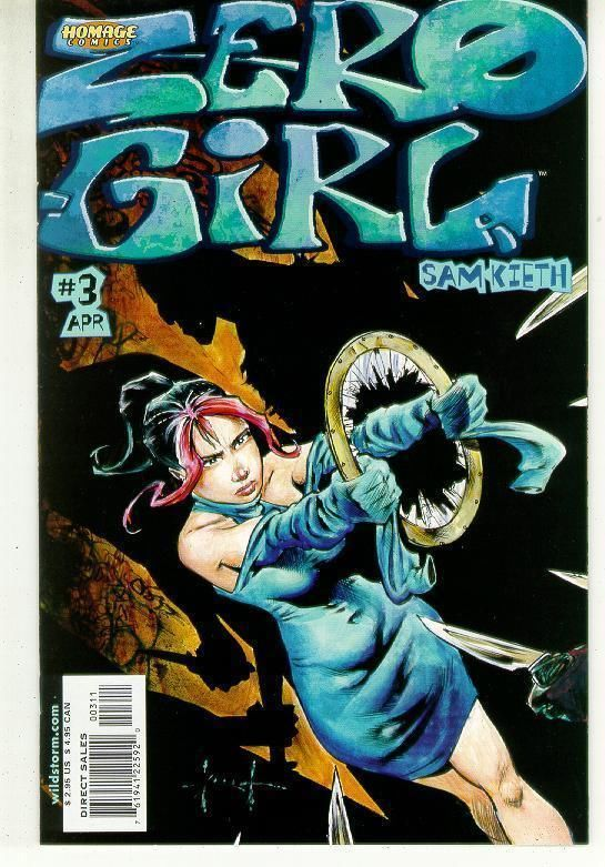 ZERO GIRL #3 (Homage Studios) NM! ~ Sam Kieth