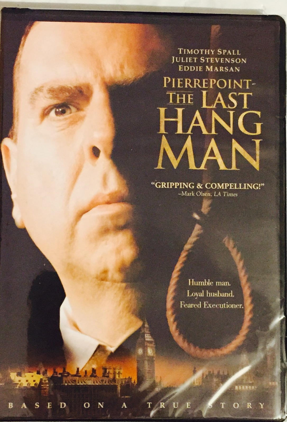 Pierrepoint: The Last Hangman [DVD ~ Brand New] Based on a True Story