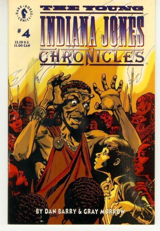 YOUNG INDIANA JONES CHRONICLES #4 (Dark Horse Comics, 1992) NM!