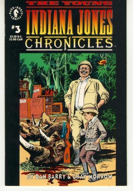 YOUNG INDIANA JONES CHRONICLES #3 (Dark Horse Comics, 1992) NM!