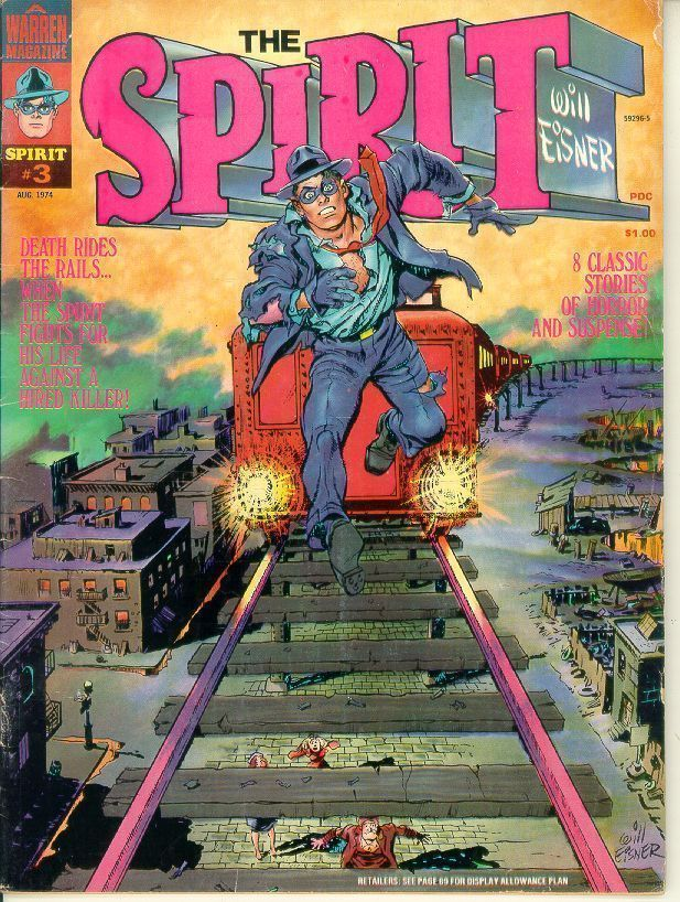 SPIRIT #3 (Warren Publishing, 1974)