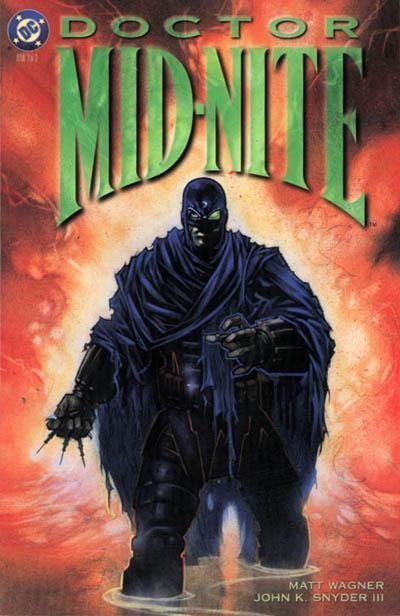 DOCTOR MID-NITE #3 NM! ~ Matt Wagner