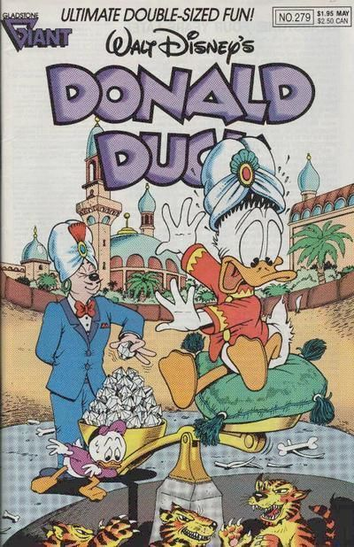 DONALD DUCK #279 (Gladstone) NM!