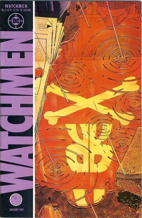 WATCHMEN #5 NM! ~ ALAN MOORE!