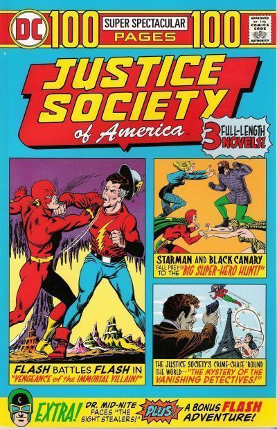 JUSTICE SOCIETY of AMERICA 100 PAGES SUPER SPECTACULAR NM!