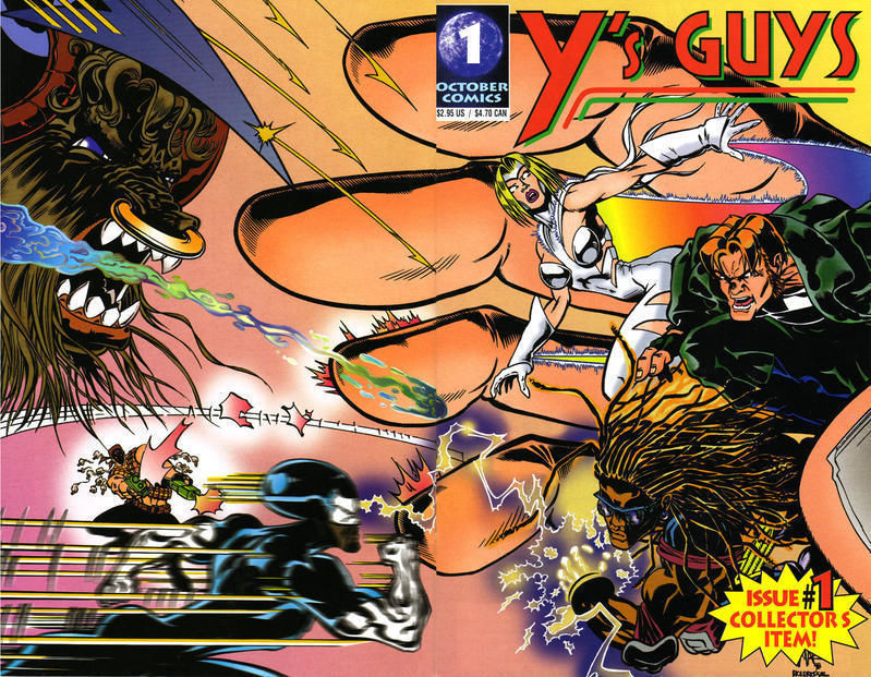 Y'S GUYS #1 (October Comics, 1999)