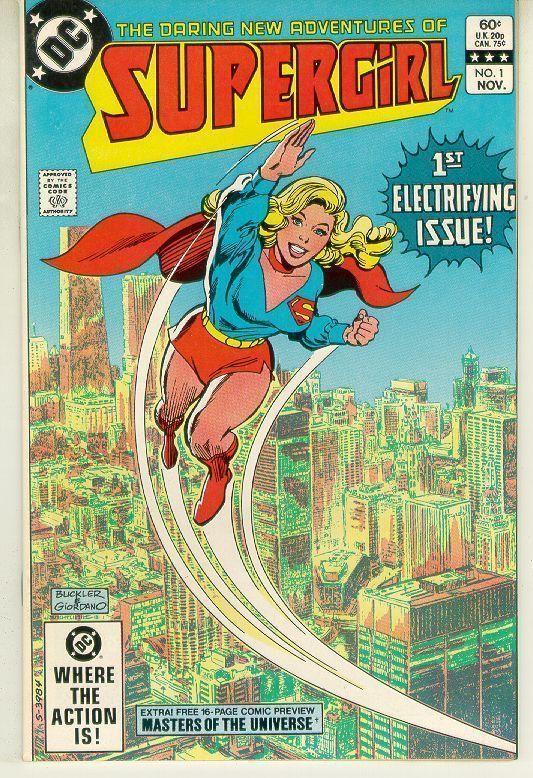 DARING NEW ADVENTURES of SUPERGIRL #1 (1982) NM!