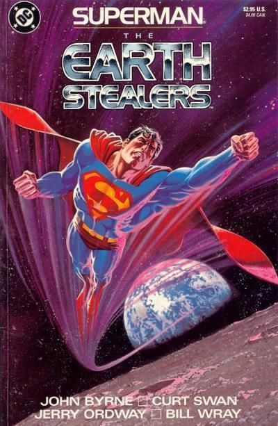 Superman: The Earth Stealers (1988) NM!