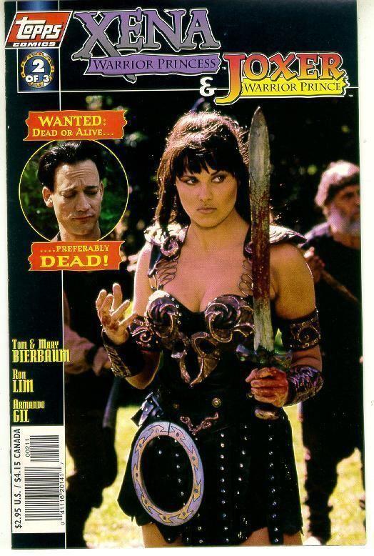 XENA WARRIOR PRINCESS / JOXER WARRIOR PRINCE #2 (Photo Cover) NM!