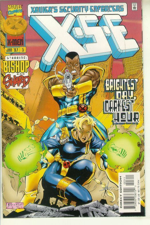 XSE #3 NM! ~ Xavier's Security Enforcers ~ Bishop ~ X-Men