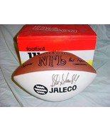 Sterling Sharpe Autographed Wilson Football Jaleco Promotion - $100.00