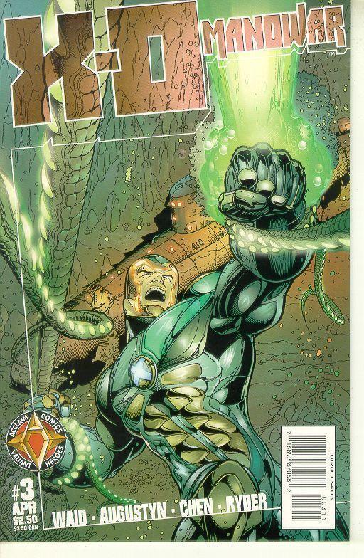 X-O Manowar #3 (Acclaim, 1997) ~ NM!