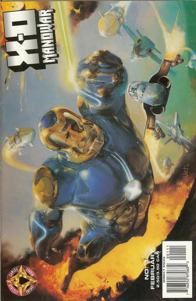 X-O Manowar #1 (Acclaim, 1997) ~ NM!
