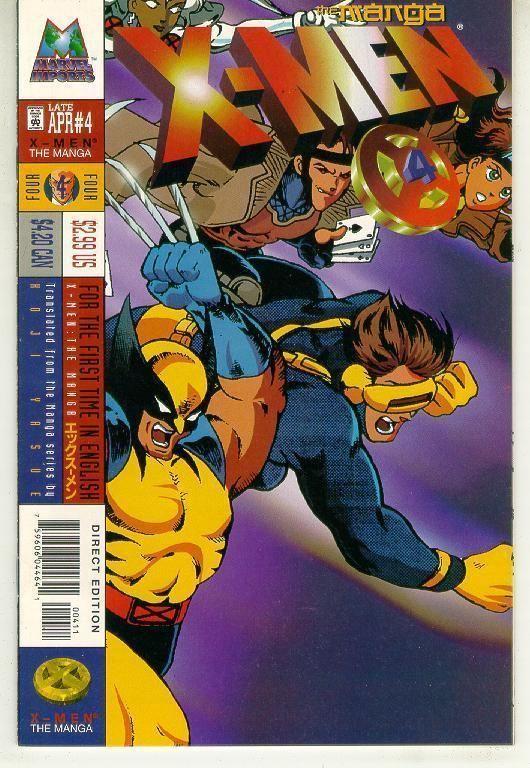 X-MEN: The MANGA #4 (1998) NM!