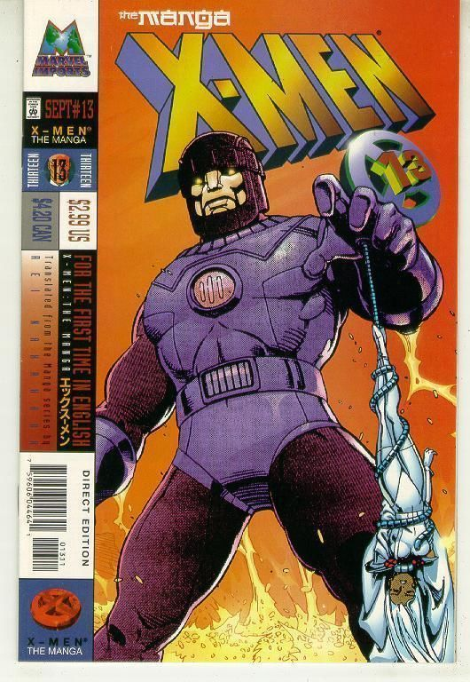 X-MEN: The MANGA #13 (1998) NM!