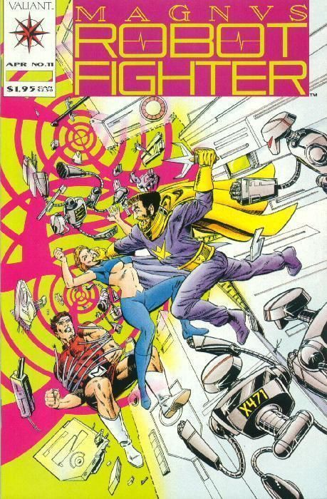 MAGNUS ROBOT FIGHTER #11 (Valiant, 1991) ~ NM!