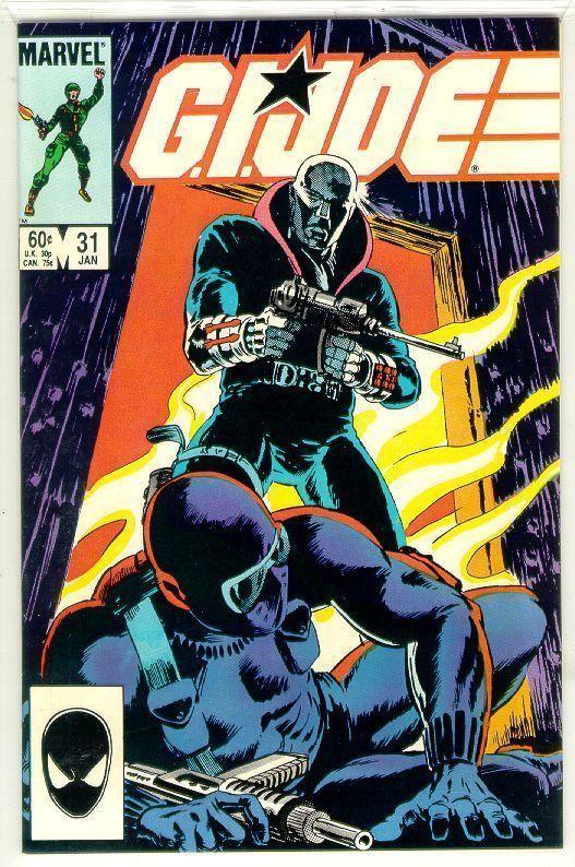 GI JOE, A REAL AMERICAN HERO #31 NM!