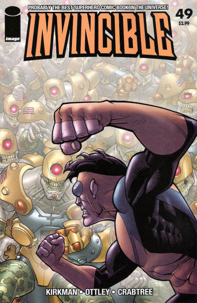 INVINCIBLE #49 (Image Comics) ~ Robert Kirkman NM!