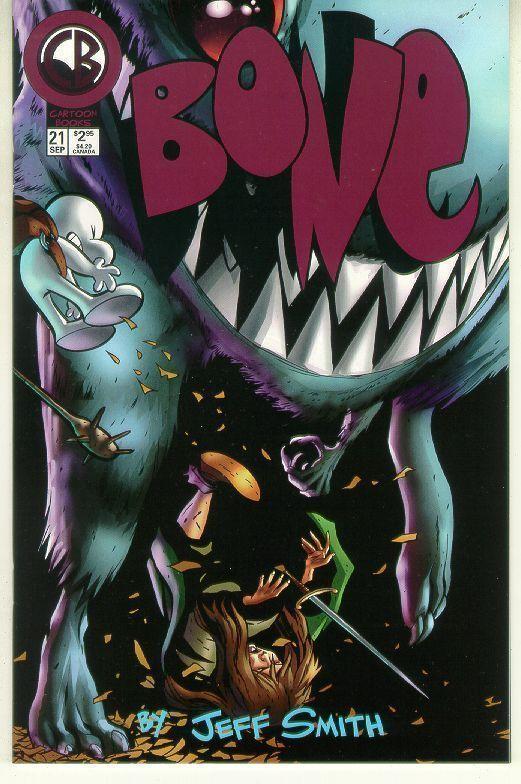Bone #21 (Cartoon Books) NM!