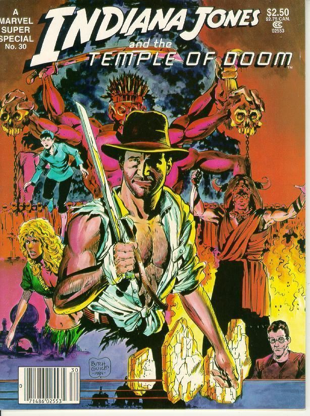MARVEL SUPER SPECIAL #30 ~ INDIANA JONES and the TEMPLE of DOOM!